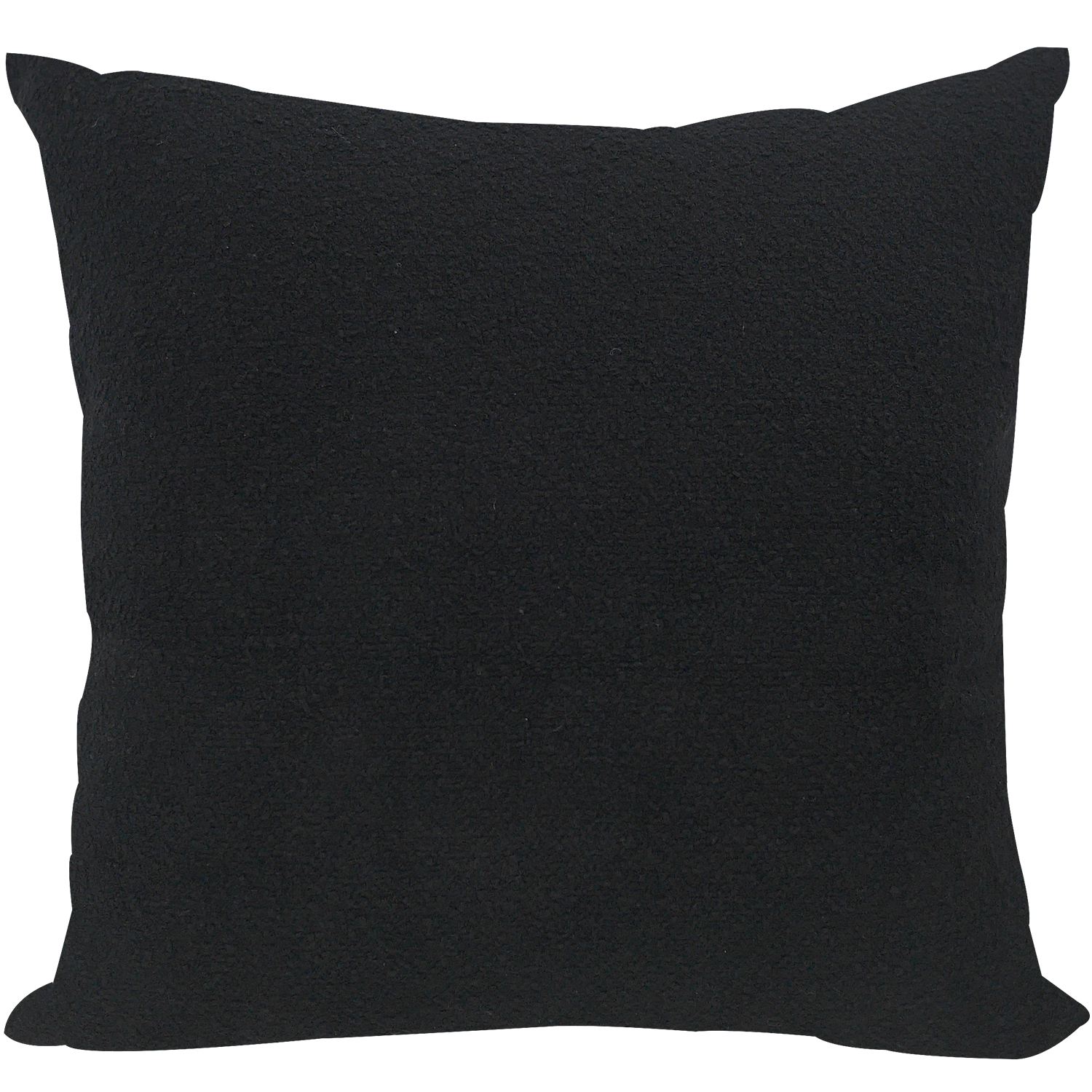Black Scratch Cushion