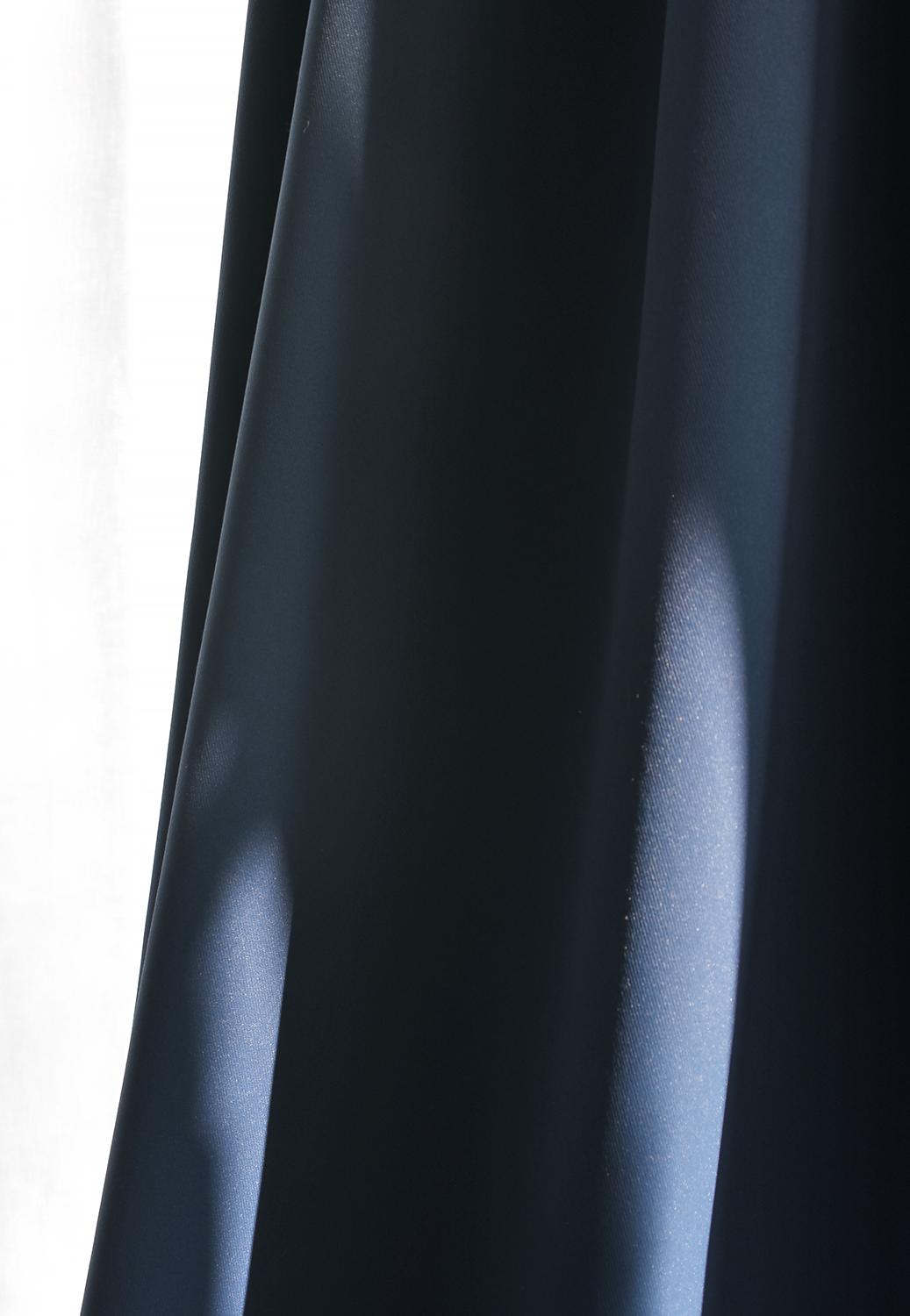 Darkness Mild Navy Curtain