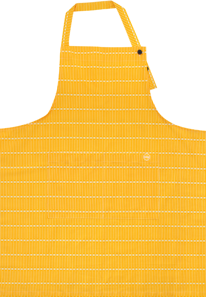 Miller Yellow Long Apron