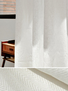 Herringbone Linen Curtain