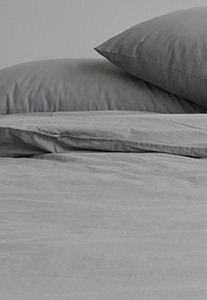 Bedding Set Flat Light Gray