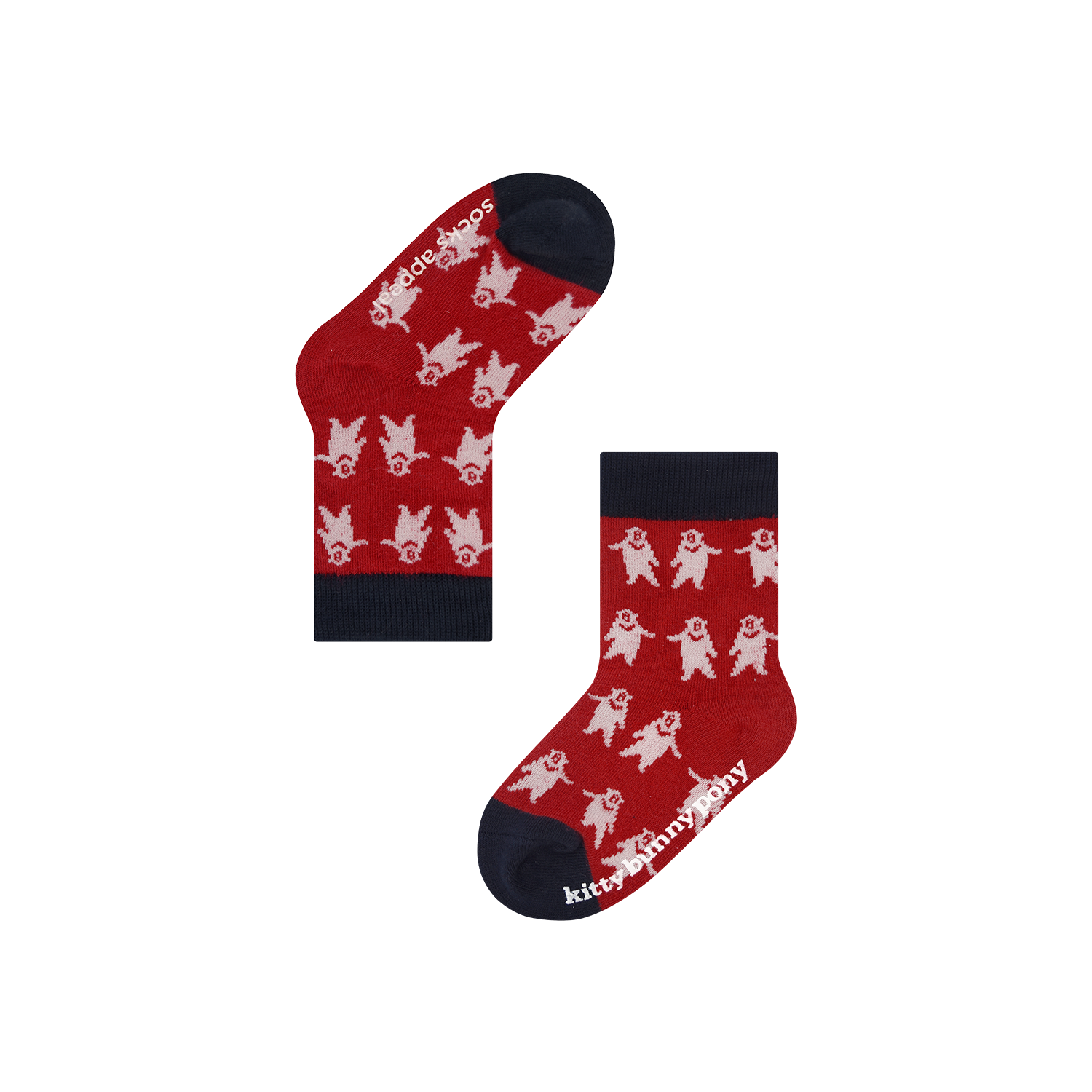 KBP X Socks Appeal CBB Red Baby Socks