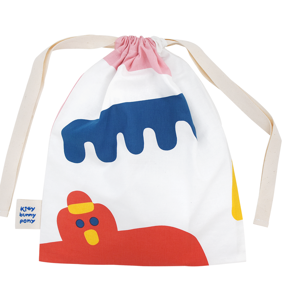 Arty Party Storage Bag by Misaki Kawai
