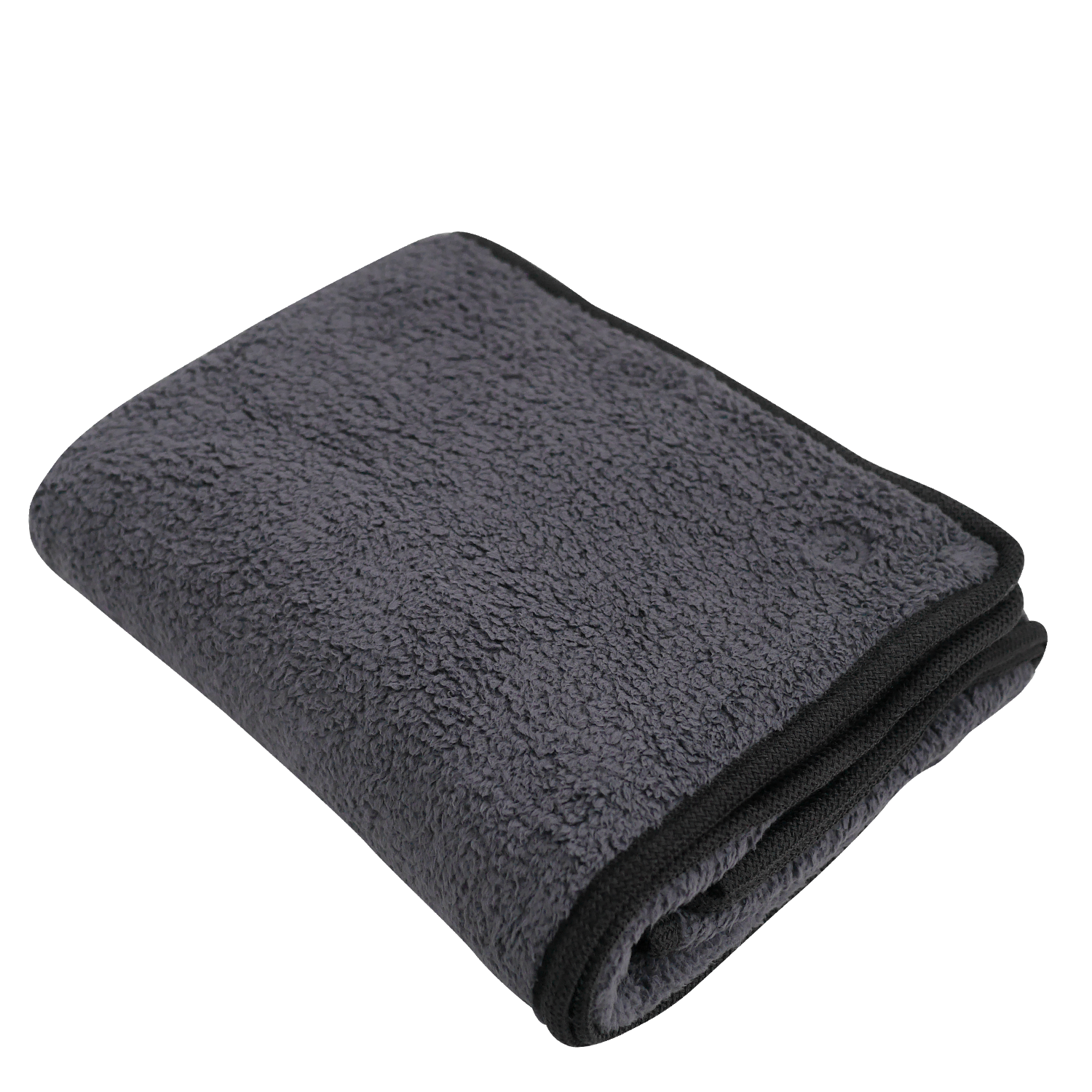 Furry Fleece Blanket Gray