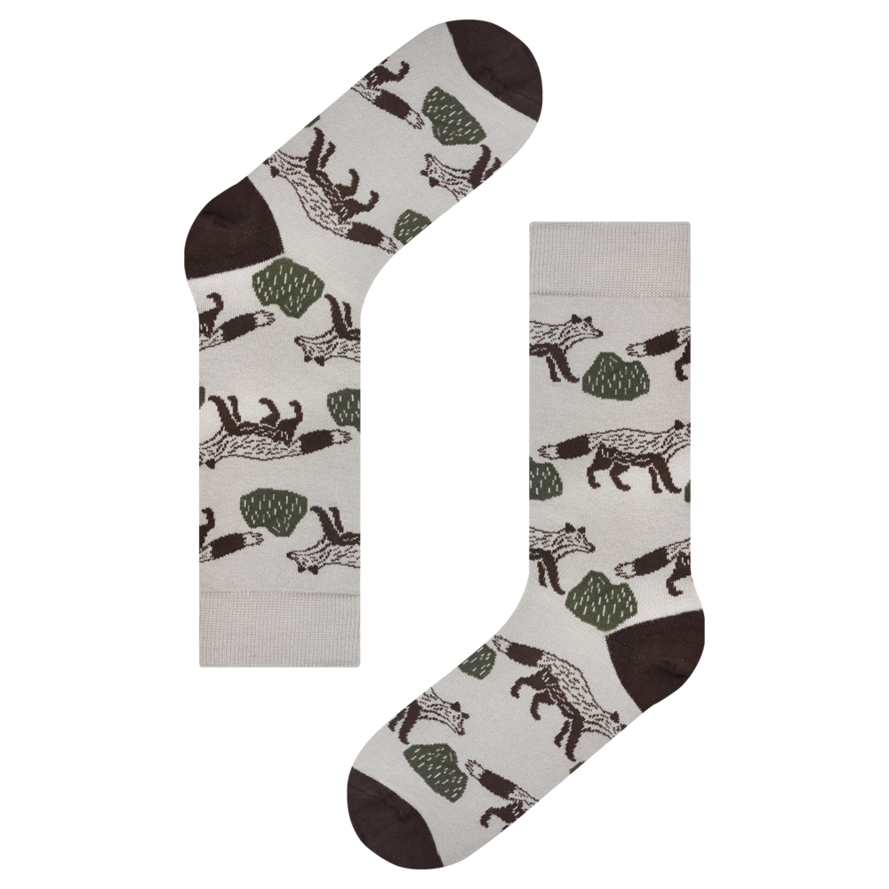 KBP X Socks Appeal Mr.Fox Socks
