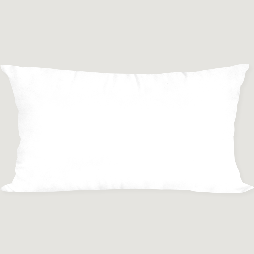 Pure White Cushion 50X30 (솜)