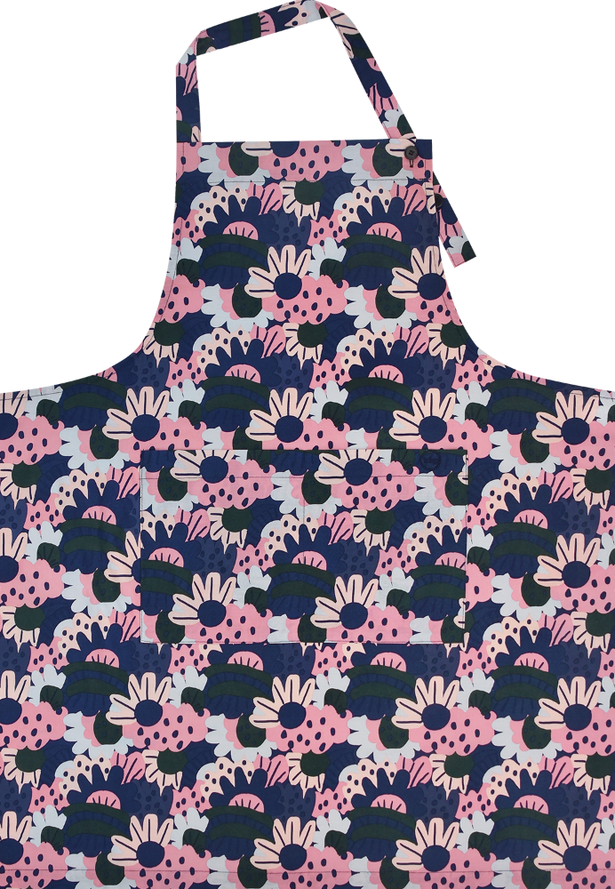 Long Apron Bloom By Jennifer Bouron