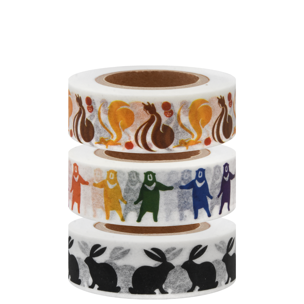 KBP Masking Tape Animals