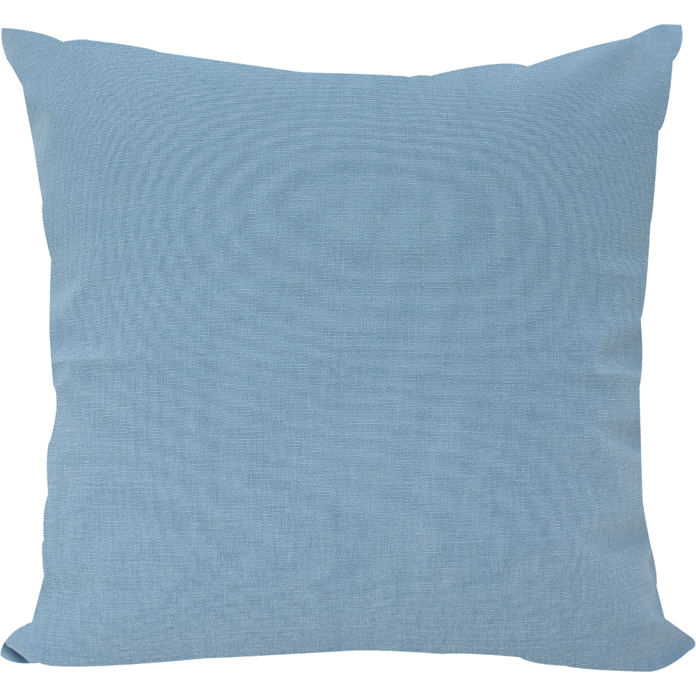 Brushed Macaron Blue Cushion