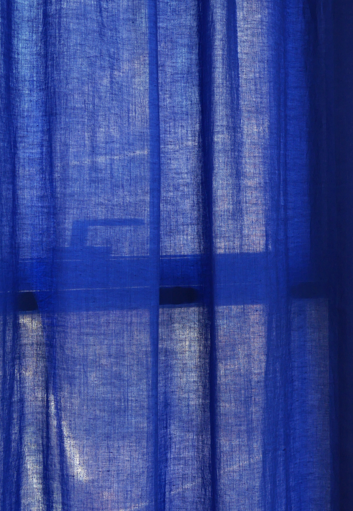 Blue Night Curtain
