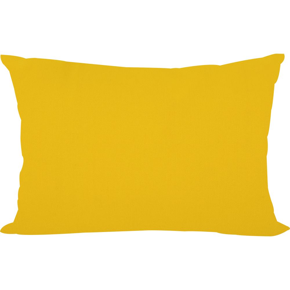 Very Yellow Pillowcase