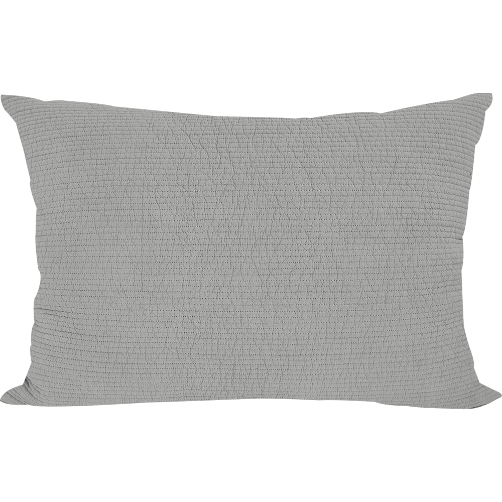 Embo Misty Gray Pillowcase
