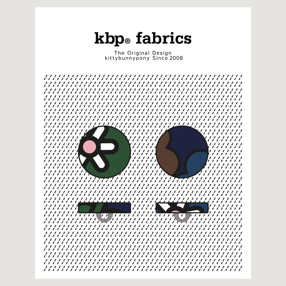 KBP Fabrics Flat Button 15mm
