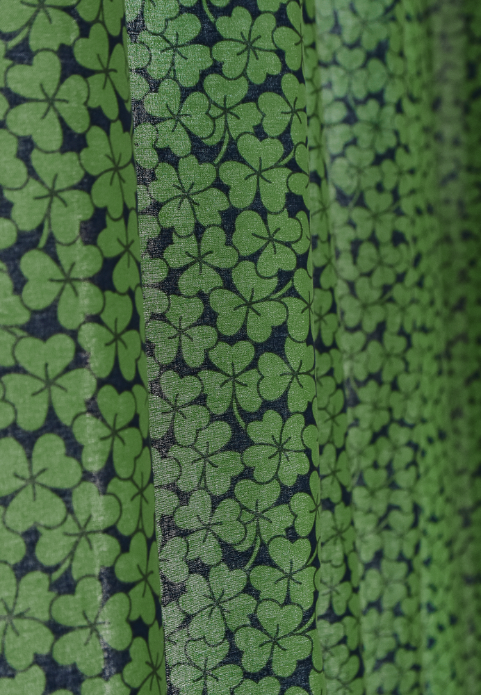 Lucky Clover Curtain