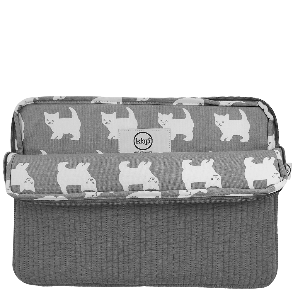 Quilting  Happy Kitty Laptop Pouch