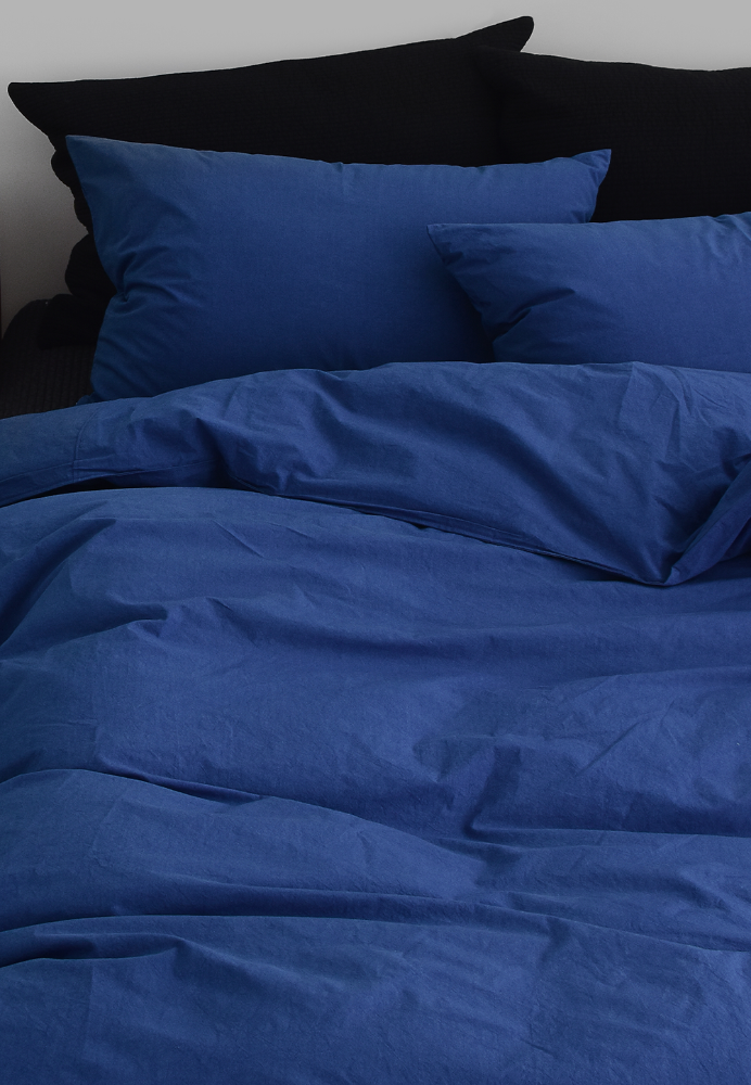 Bedding Set Algodon Blue