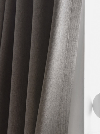 Darkness HRB Mocha Gray Curtain