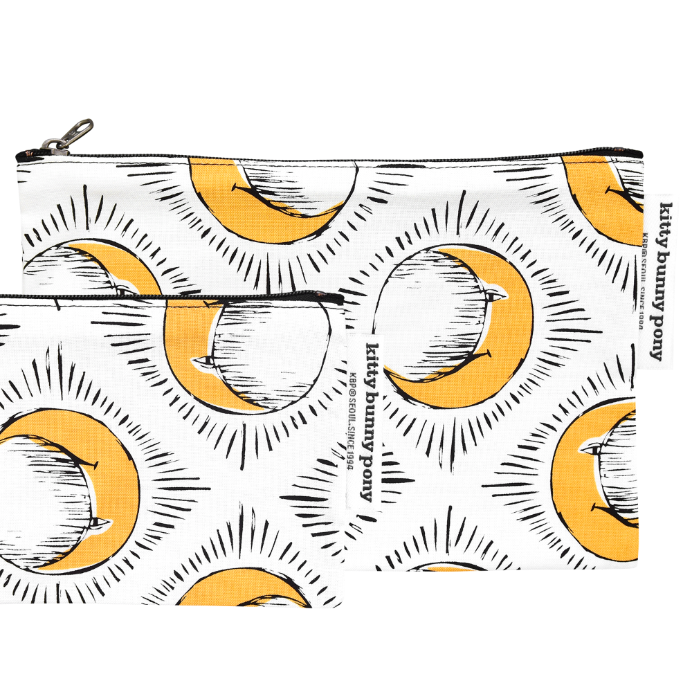 Sun & Yellow Moon Pouch by Tool Press
